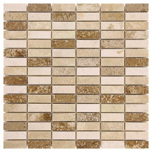 TRAVERTINE BLOCK MIX 48...